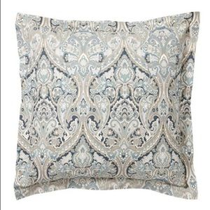 """POTTERY BARN /""""SWEDISH HOUSE/"""" PILLOW SHAMS ~ SET OF 2 ~ STANDARD SIZE ~ EXCELLENT"""
